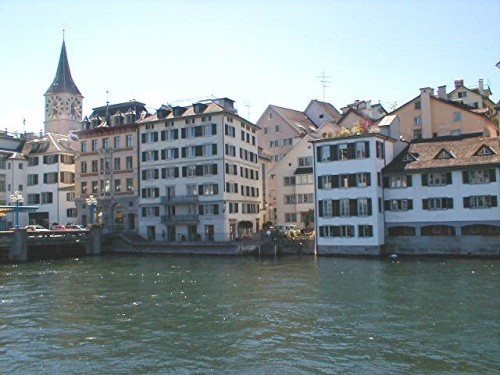 Area of the Limmat river where he was drowned