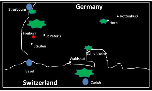 Sattler ministry map