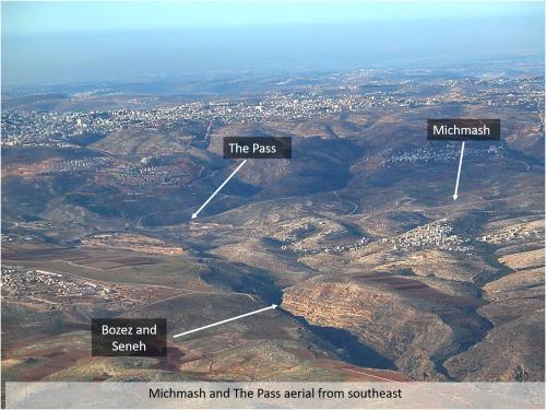 Michmash terrain