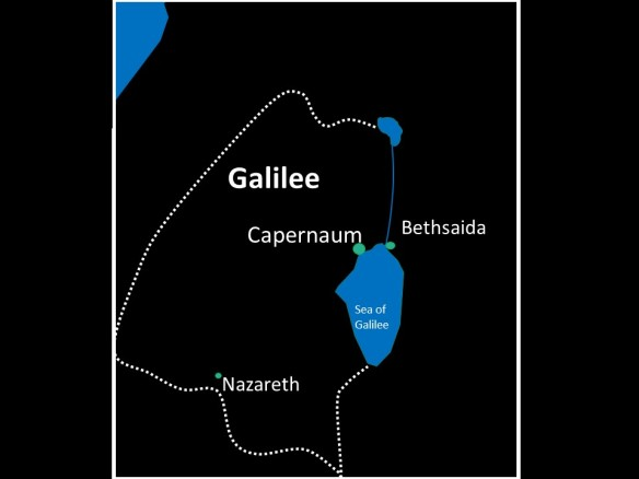 fish was the staple meat item in the ancient greco-roman world  and there  was a booming fishing industry at this time in galilee – with fish even  being