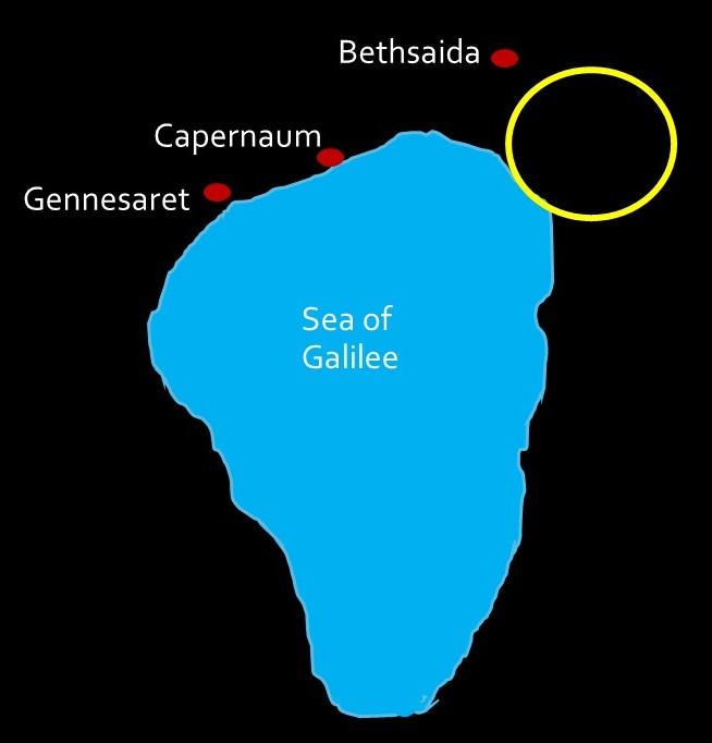 Galilee feeding of the 5000