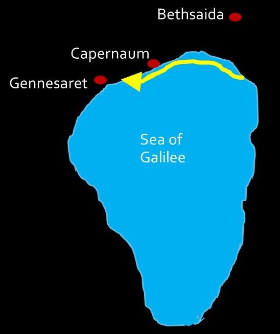 Galilee Jesus feeds 5000 2